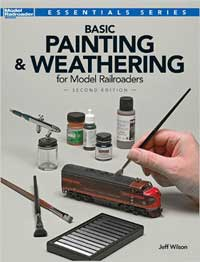 Kalmbach Basic Painting & Weathering for Model RR, 2nd Ed, LIST PRICE $19.99
