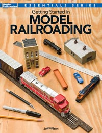 Kalmbach Getting Started in Model Railroading, LIST PRICE $21.99