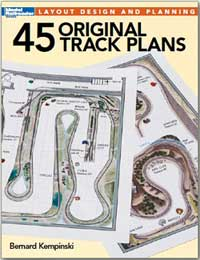 Kalmbach 45 Original Track Plans, LIST PRICE $21.99