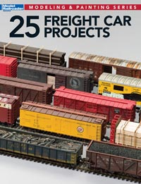 Kalmbach 25 Freight Car Projects, LIST PRICE $21.99