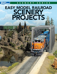 Kalmbach Easy Model Railroad Scenery Projects, LIST PRICE $21.99