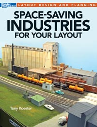 Kalmbach Kalback Space Saving Industries for your layout, LIST PRICE $21.99