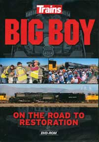 Kalmbach Big Boy: On the Road to Restoration DVD, LIST PRICE $29.99