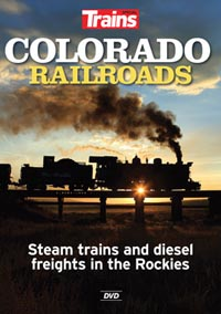 Kalmbach Colorado Railroads DVD, LIST PRICE $24.99