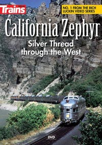 Kalmbach A California Zephyr DVD, LIST PRICE $19.95