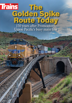 Kalmbach The Golden Spike Route Today DVD 60 Minutes, LIST PRICE $24.99