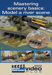 Kalmbach Mastering Scenery Basics Model a River Scene DVD, LIST PRICE $12.99