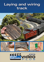 Kalmbach Laying and Wiring Track DVD, LIST PRICE $12.99