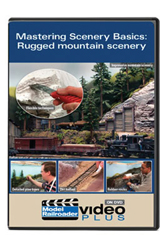 Kalmbach MasteringScenery Basics Rugged Mountain SceneryDVD, LIST PRICE $12.99