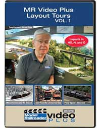 Kalmbach Model Railroader Video Plus Layout Tours Vol 1, LIST PRICE $12.99