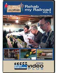 Kalmbach Rehab My Railroad - Model Railroader Video Plus, LIST PRICE $12.99