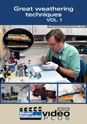 Kalmbach Creat Weathering Techniques Volume 1 DVD, LIST PRICE $12.99