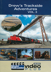 Kalmbach Drew's Trackside Adventures Volume 3 DVD, LIST PRICE $12.99