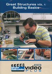 Kalmbach Great Structures Building Basics Volume 1, LIST PRICE $12.99