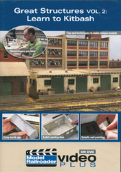 Kalmbach Great Structures Volume 2:Learn to Kitbash, LIST PRICE $12.99
