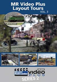 Kalmbach MR Video Plus : Layout Tours Volume 3 DVD, LIST PRICE $12.99