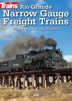 Kalmbach Rio Grande Narrow Gauge Freight Trains DVD, LIST PRICE $24.99