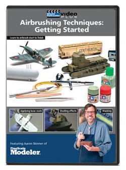 Kalmbach Airbrushing Technique: Getting Started DVD, LIST PRICE $12.99