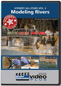 Kalmbach Modeling Rivers Scenery v2 DVD, LIST PRICE $12.99