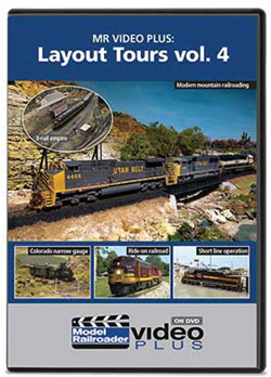 Kalmbach Mr Video Plus Layout Vol 4 DVD, LIST PRICE $12.99