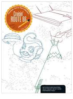Kalmbach Cruisin Route 66 Coloring Book, LIST PRICE $12.99