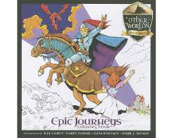 Kalmbach Epic Journeys Coloring Book, LIST PRICE $14.99