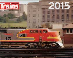 Kalmbach 2015 Trains Magazine Calendar, LIST PRICE $12.99