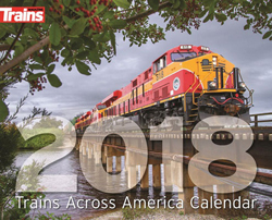 Kalmbach 2018 Calendar Trains Across America, LIST PRICE $12.99