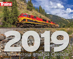 Kalmbach 2019 Trains Mgzn Calendar, LIST PRICE $12.99