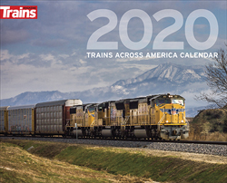 Kalmbach 2020 Trains Across US Calendar, LIST PRICE $12.99