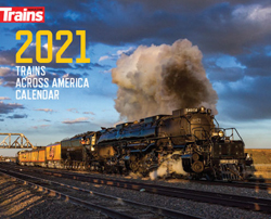 Kalmbach 2021 Trains Across America Calendar, LIST PRICE $12.99