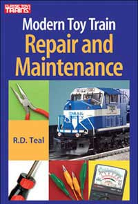Kalmbach MODERN TOY TRAIN REPAIR & MAIN, LIST PRICE $17.95