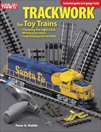 Kalmbach TRACKWORK for TOY TRAINS, LIST PRICE $19.95