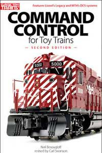 Kalmbach COMMAND CONTROL for TOY TRAINS, LIST PRICE $17.95