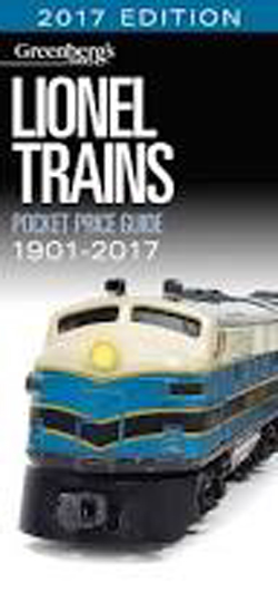Kalmbach Lionel Trains Pocket Guide '17, LIST PRICE $21.99