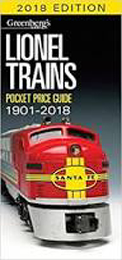 Kalmbach Lionel Trains Pocket Guide '18, LIST PRICE $21.99