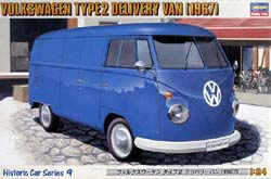 Hasegawa Models '67 VW TYPE 2 DELIVERY VAN :24, LIST PRICE $43
