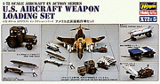 Hasegawa Models US AIR WEAPONS LOADING SET :72, LIST PRICE $10.99