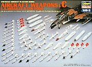Hasagawa Models WEAPONS C Missiles & Pods 1:48, LIST PRICE $17.7