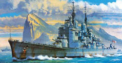 Hasagawa Models HMS VANGUARD BATTLESHIP 1:450 , LIST PRICE $53
