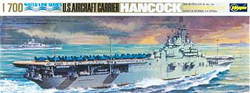 Hasegawa Models US Carrier Hancock 1:700, LIST PRICE $32