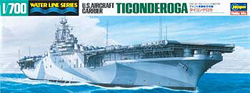 Hasegawa Models US Carrier Ticonderoga 1:700, LIST PRICE $32.99