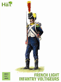 HaT Ind. Figures FRENCH LIGHT INF VOLT 28mm , LIST PRICE $19.5
