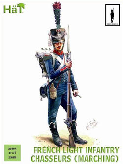 HaT Ind. Figures FRENCH CHASSEURS MARCHING 28mm, LIST PRICE $15