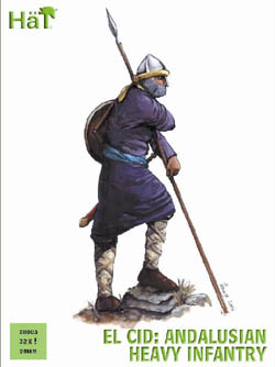 HaT Ind. Figures ANDALUSIAN HEAVY INFANTRY 28mm, LIST PRICE $15