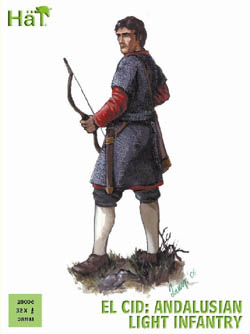 HaT Ind. Figures ANDALUSIAN LIGHT INFANTRY 28mm, LIST PRICE $15