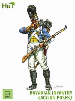 HaT Ind. Figures BAVARIAN INFANTRY Act Pose 28m, LIST PRICE $15