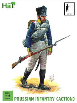 HaT Ind. Figures PRUSSIAN INFANTRY ACTION 28mm , LIST PRICE $15