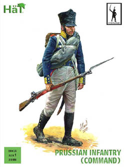 HaT Ind. Figures PRUSSIAN INFANTRY COMMAND 28mm, LIST PRICE $15