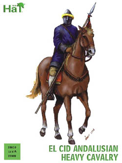 HaT Ind. Figures Andalusian Heavy Cavalry 28Mm, LIST PRICE $15